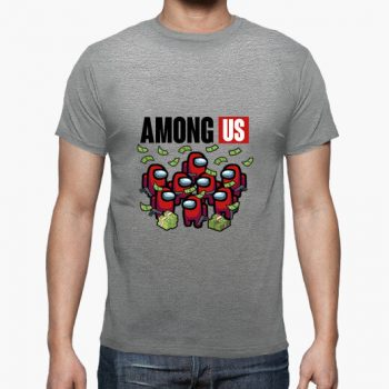 Camiseta Among us version La Casa de Papel