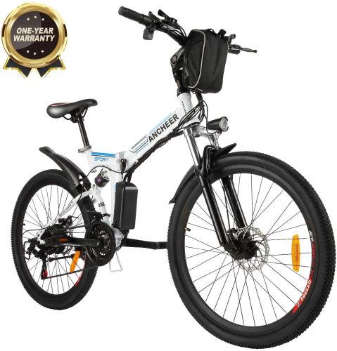 bicicleta electrica ancheer bikfun plegable