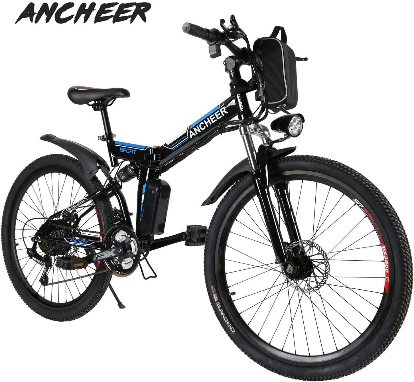 bicicleta electrica ancheer folding