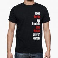 camiseta jaque mate la casa de papel