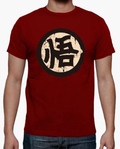 camiseta kanji go sabiduria