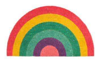 felpudo fisura arcoiris multicolor