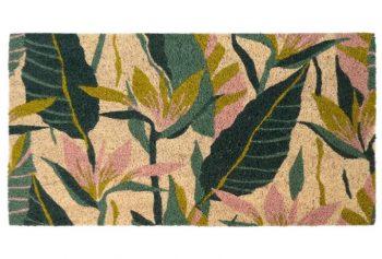 felpudo hojas silvestres